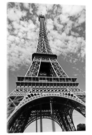 Acrylic print  Eiffel Tower, Paris - John Lang Art Gallery