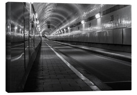Canvas print  Age Hamburger Elbtunnel - Dennis Stracke