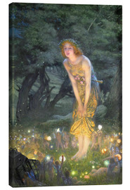 Canvas print  Midsummer Eve - Edward Robert Hughes