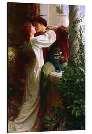 Aluminium print  Romeo and Juliet, 1884 - Sir Frank Dicksee