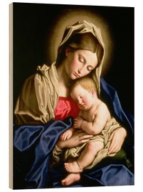 Il Sassoferrato - Madonna and Child