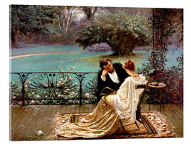 Acrylic glass  The Pride of Dijon - William John Hennessy