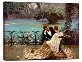 Canvas print  The Pride of Dijon - William John Hennessy