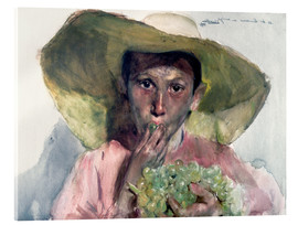Acrylic print  Boy Eating Grapes - Joaquín Sorolla y Bastida