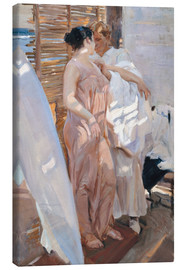Canvas print  After the bath - Joaquín Sorolla y Bastida