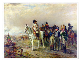 Premium poster  The Turning Point at Waterloo - Robert Alexander Hillingford