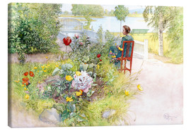 Canvas  Summer in Sundborn - Carl Larsson