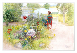 Poster  Summer in Sundborn - Carl Larsson