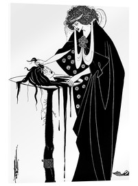 Acrylic print  The Dancer's Reward - Aubrey Vincent Beardsley