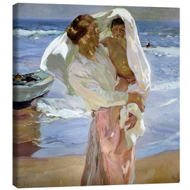 Joaquin Sorolla y Bastida - Just Out of the Sea