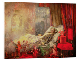 Acrylic print  The Stuff that Dreams are Made Of - John Anster Fitzgerald
