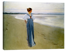 Canvas print  The Seashore - William Henry Margetson