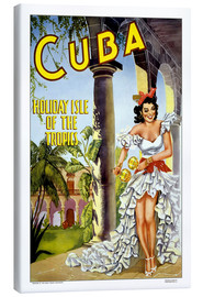 Canvas print  Cuba - holiday island
