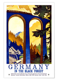 Premium poster  Black Forest, Germany - Travel Collection