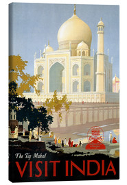 Canvas  India - Taj Mahal