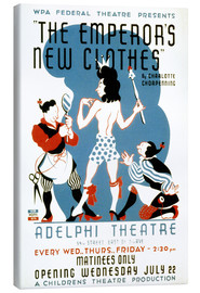 Canvas print  The Emperor's New Clothes - Advertising Collection