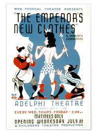 Premium poster  The Emperor's New Clothes - Advertising Collection