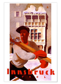 Premium poster  Innsbruck, Tirol - Travel Collection