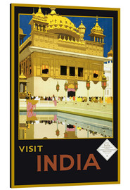 Aluminium print  India - Delhi House - Travel Collection