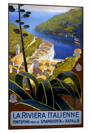 Acrylic print  La Riviera Italienne - Travel Collection