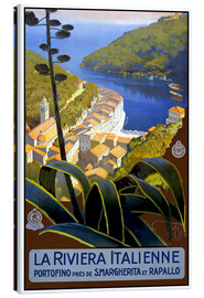 Canvas print  La Riviera Italienne - Travel Collection