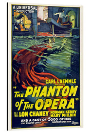 Aluminium print  The Phantom of the Opera - Entertainment Collection