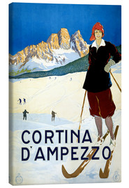 Canvas print  Cortina d'Ampezzo - Travel Collection