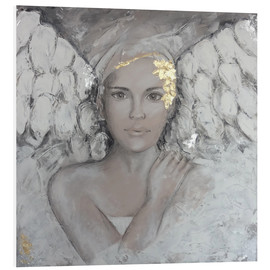 Foam board print  Guardian angel - Sam Reimann