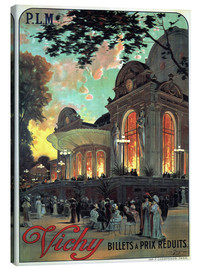 Canvas print  Vichy - Billets a Prix Reduits - Advertising Collection