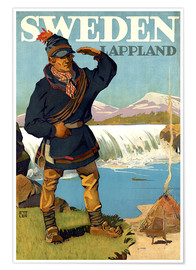 Premium poster  Lapland, Sweden - Travel Collection