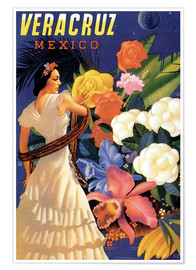 Premium poster  Veracruz, Gulf of Mexico - Travel Collection