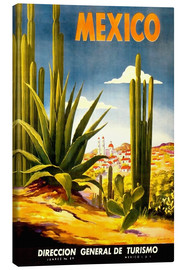Canvas print  Mexico cactus - Travel Collection