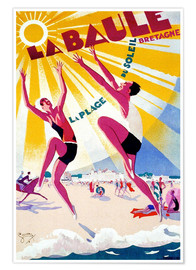 Premium poster  La Baule - Brittany - Travel Collection