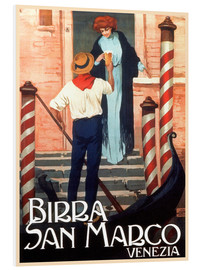 Foam board print  Italy - Birra San Marco Venice - Travel Collection