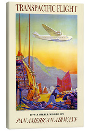 Canvas print  it's a small world - Travel Collection