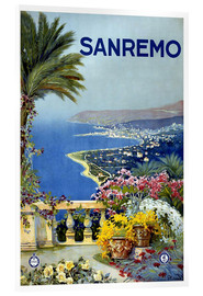 Acrylic print  Sanremo, Italy - Travel Collection