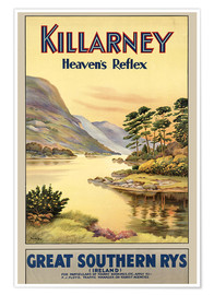 Premium poster  Ireland - Killarney - Travel Collection