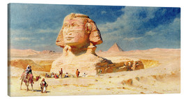 Canvas  The Sphynx of Giza, 1874 - Carl Haag
