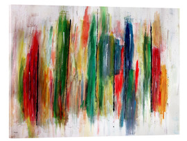 Acrylic glass  Abstract Painting - teddynash