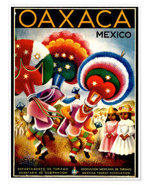 Premium poster  Mexico - Oaxaca - Travel Collection