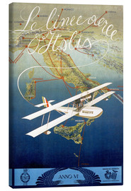 Canvas print  Italian airline - ScrapNow