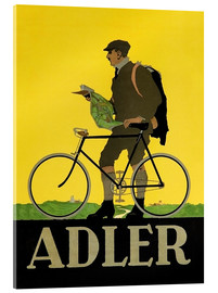 Acrylic print  Adler Bicycles - Advertising Collection