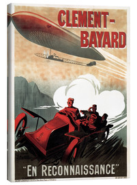 Canvas print  Clement Bayard Automobile - Advertising Collection