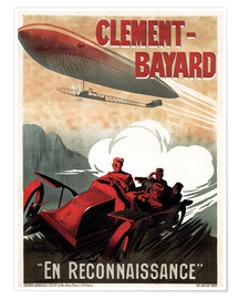 Premium poster  Clement Bayard Automobile - Advertising Collection