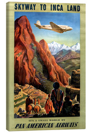 Canvas print  Skyway to Inca Land - Travel Collection
