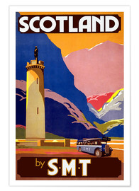 Premium poster  Experience Scotland - Travel Collection