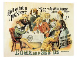Foam board print  Dog Show - Advertising Collection