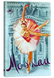 Canvas print  Moscow - Russian ballet - Advertising Collection