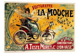 Acrylic print  Voiturette La Mouche - Advertising Collection