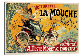 Aluminium print  Voiturette La Mouche - Advertising Collection